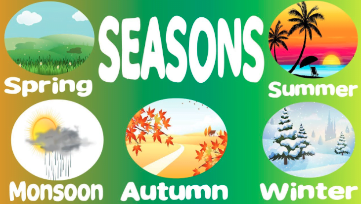 Different Types of Seasons in India